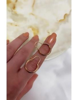 Half Ring Küpe